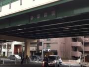 環七と早稲田通りの交差点にある大和陸橋のそば。
